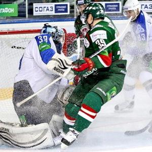 Прямая трансляция Нефтехимик — АК Барс. Хоккей. КХЛ.