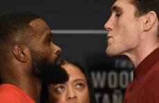 Участники турнира UFC 228 встретились лицом к лицу