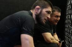 Хабиб Нурмагомедов провел очередную тяжелую неделю тренировок