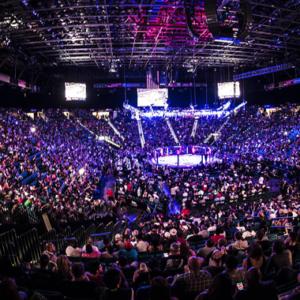 Результаты взвешивания перед турниром UFC Fight Night Moscow