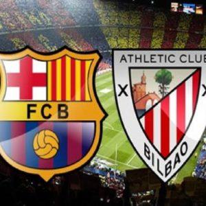 Прямая трансляция Барселона - Атлетик. Футбол. Ла Лига.