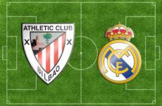 Прямая трансляция футбольного поединка Атлетик — Реал Мадрид. Ла Лига.