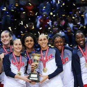 Прямая трансляция Латвия — США. Баскетбол. ЧМ среди женщин.