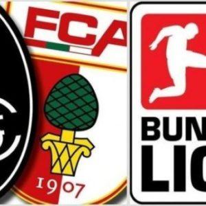 Прямая трансляция Аугсбург - Фрайбург. Футбол. Бундеслига.
