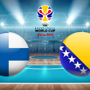 Прямая трансляция баскетбольного поединка Финляндия — Босния и Герцеговина