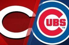 Прямая трансляция бейсбольного матча Чикаго Кабс — Цинциннати Редс. МЛБ
