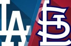 Прямая трансляция бейсбольного матча Сент-Луис Кардиналс — Лос-Анджелес Доджерс. МЛБ.