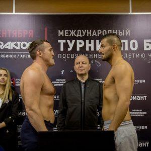 Видео боя Денис Лебедев - Хизни Алтункая