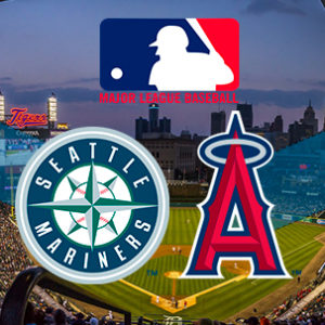 Прямая трансляция бейсбольного поединка Лос-Анджелес Энджелс - Сиетл Маринерс. МЛБ.