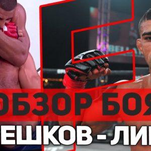 ОБЗОР БОЯ АНДРЕЙ КОРЕШКОВ - ДУГЛАС ЛИМА 3 Bellator 206