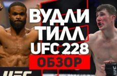 ОБЗОР БОЯ ТАЙРОН ВУДЛИ — ДАРРЕН ТИЛЛ UFC 228