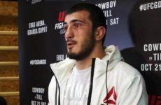Рамазан Эмеев получил нового соперника на турнир UFC в Москве
