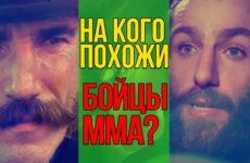 Двойники бойцов ММА. На кого они похожи?
