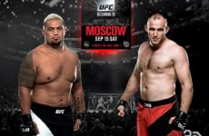 Видео боя Марк Хант — Алексей Олейник UFC Fight Night 136