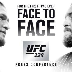 Прямая трансляция первой пресс-конференции UFC 229: Хабиб Нурмагомедов- Конор Макгрегор
