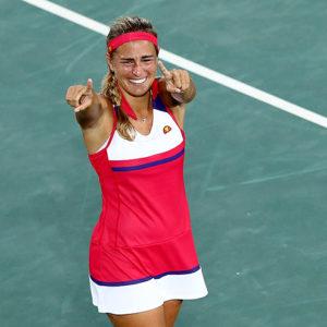 Прямая трансляция Александра Соснович - Моника Пуиг. Теннис. WTA Premier Ухань.