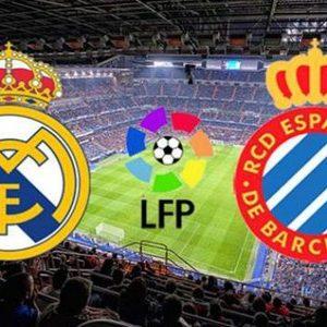 Прямая трансляция Реал Мадрид — Эспаньол. Футбол. Ла Лига.