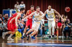 Прямая трансляция баскетбольного поединка Черногория — Украина
