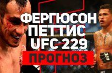 Полный прогноз и обзор на бой Тони Фергюсон — Энтони Петтис UFC 229 06.10.2018