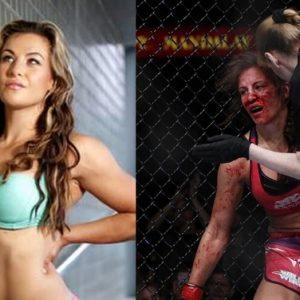 Экс-чемпионка UFC Миша Тейт выразила поддержку Дональду Серроне