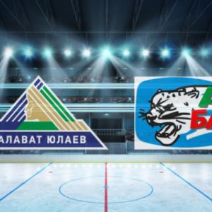 Прямая трансляция хоккейного поединка Салават Юлаев — АК Барс. КХЛ.