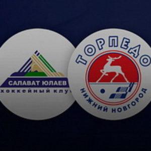 Прямая трансляция хоккейного поединка Салават Юлаев — Торпедо