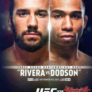 Видео боя Джимми Ривера - Джон Додсон UFC 228