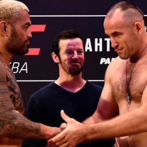 Слова Алексея Олейника после боя с Хантом на UFC Moscow