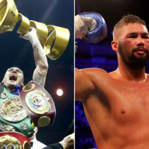 Бой Александра Усика и Тони Беллью состоится 10 ноября в Манчестере