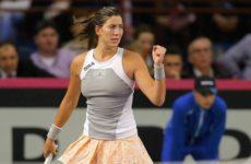 Прямая трансляция Гарбинье Мугуруса — Виктория Голубич. Теннис. WTA Premier Токио.