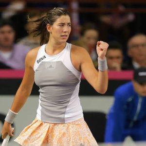 Прямая трансляция Гарбинье Мугуруса - Виктория Голубич. Теннис. WTA Premier Токио.