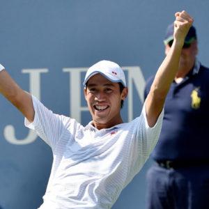 Прямая трансляция Кей Нисикори — Маттиас Бахингер. Теннис. ATP International Мец.