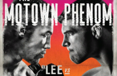 Официальный постер к UFC on Fox 31: Кевин Ли — Эл Яквинта