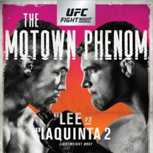 Официальный постер к UFC on Fox 31: Кевин Ли - Эл Яквинта