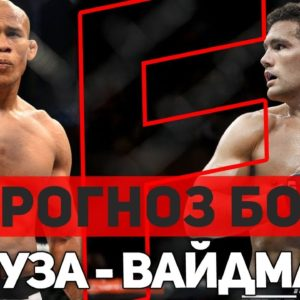 ПРОГНОЗ НА БОЙ КРИС ВАЙДМАН - РОНАЛДО «ЖАКАРЕ» СОУЗА UFC 230