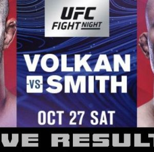 Прямая трансляция UFC Fight Night 138: Волкан Оздемир - Энтони Смит