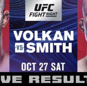 Прямая трансляция UFC Fight Night 138: Волкан Оздемир - Энтони Смит