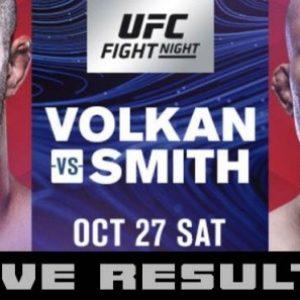 Прямая трансляция UFC Fight Night 138: Волкан Оздемир — Энтони Смит