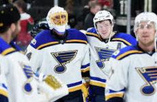 Видео. Сейнт-Луиз Блюз в третьем периоде додавили Чикаго Блэкхоукс в NHL. 28.10.18