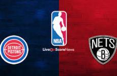 Прямая трансляция Детройт Пистонс — Бруклин Нетс. Баскетбол. Предсезонные матчи НБА.