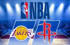 Прямая трансляция Лос-Анджелес Лейкерс -Хьюстон Рокетс. Баскетбол. NBA. 21.10.18