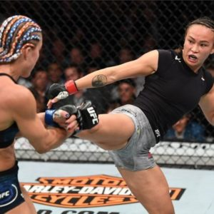 UFC 229: АмериканкаМишель Уотерсонпобедила соотечественницуФелис Херриг