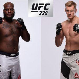 Видео боя Деррик Льюис — Александр Волков UFC 229