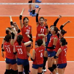 Прямая трансляция Южная Корея - Россия. Волейбол. Чемпионат Мира 2018.