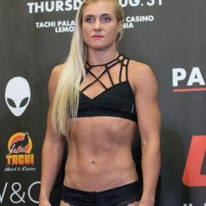 Видео боя Лина Лансберг — Яна Куницкая UFC 229