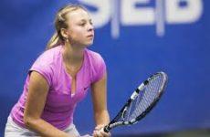 Прямая трансляция Анетт Контавейт — Анастасия Потапова. Теннис. WTA Premier. 15.10.18