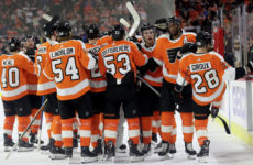 Прямая трансляция Филадельфия Флаерс — Веган Голден Найтс. Хоккей. NHL. 13.10.18