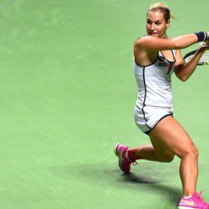Прямая трансляция Анастасия Севастова - Доминика Цибулкова. Теннис. WTA Premier Mantadory Пекин.