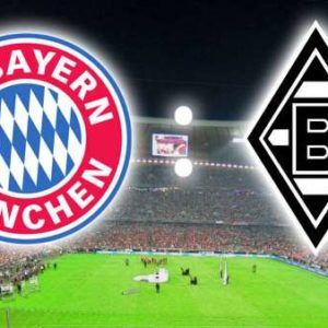 Прямая трансляция Бавария Мюнхен - Боруссия М. Футбол. Бундеслига.