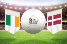 Прямая трансляция Ирландия — Дания. Футбол. Лига Наций. Лига B. 13.10.18.